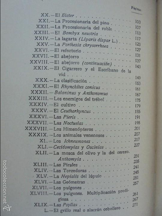 Libros antiguos: COLECCION DE LIBROS SOBRE INSECTOS. TODOS FOTOGRAFIADOS. 3 LIBROS SOBRE ABEJAS. 13 LIBROS EN TOTAL. - Foto 58 - 57691855