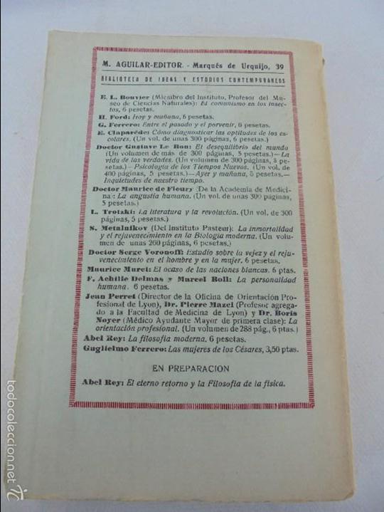 Libros antiguos: COLECCION DE LIBROS SOBRE INSECTOS. TODOS FOTOGRAFIADOS. 3 LIBROS SOBRE ABEJAS. 13 LIBROS EN TOTAL. - Foto 102 - 57691855