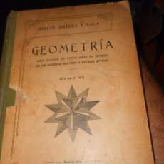 Libros antiguos: GEOMETRIA.. Lote 57788496