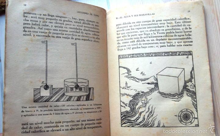 Libros antiguos: El agua y sus maravillas. Javier Olóndriz Ed Muntañola 1922 Ilustraciones James Wilkinson v fotos - Foto 2 - 58079206