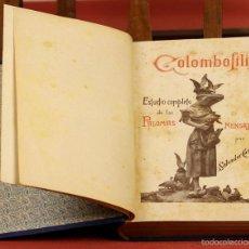 Libros antiguos: 7833 - COLOMBOFILIA. TOMO II. SALVADOR CASTELLÓ. EDI. LA AVICULTURA PRÁCTICA. S/F.. Lote 58200764