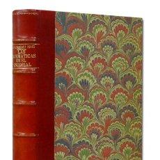 Libros antiguos: SÁNCHEZ PÉREZ (JOSÉ A.).– LAS MATEMÁTICAS EN LA BIBLIOTECA DEL ESCORIAL. MADRID 1929. EN HOLANDESA. Lote 58394097
