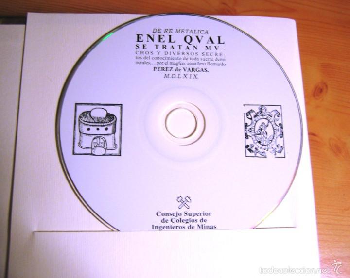 Libros antiguos: DE RE METALICA- Perez de Vargas. Numerado 000375- Consejo Sup. Ingenieros de Minas- - Foto 3 - 59658675
