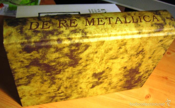 Libros antiguos: DE RE METALICA- Perez de Vargas. Numerado 000375- Consejo Sup. Ingenieros de Minas- - Foto 7 - 59658675