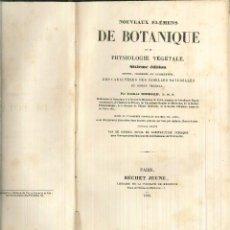 Libros antiguos: NOVEAUX ÉLÉMENS DE BOTANIQUE ET DE PHYSIOLOGIE VÉGÉTALE. ACHILLE RICHARD. Lote 60578615