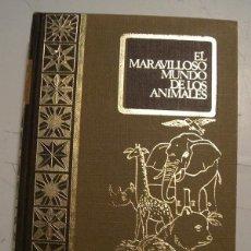 Libros antiguos: EL MARAVILLOSO MUNDO DE LOS ANIMALES. Lote 60596387