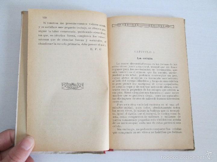 Libros antiguos: LECTURAS BIOLOGICAS. EMILIO FERNANDEZ GALIANO. CIENCIAS NATURALES. 1916. VER FOTOS - Foto 8 - 60674663