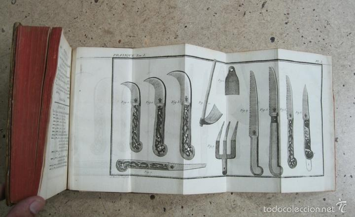 Libros antiguos: La practique du Jardinage.1774.Roger Schabol. Con diez grabados - Foto 5 - 60682227