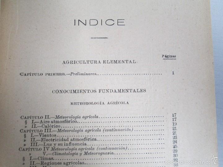 Libros antiguos: AGRICULTURA Y TECNICA AGRICOLA INDUSTRIAL. PRIMERA Y SEGUNDA PARTE. REQUEJO Y TORTOSA. - Foto 10 - 61012467