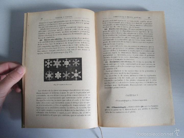 Libros antiguos: AGRICULTURA Y TECNICA AGRICOLA INDUSTRIAL. PRIMERA Y SEGUNDA PARTE. REQUEJO Y TORTOSA. - Foto 17 - 61012467