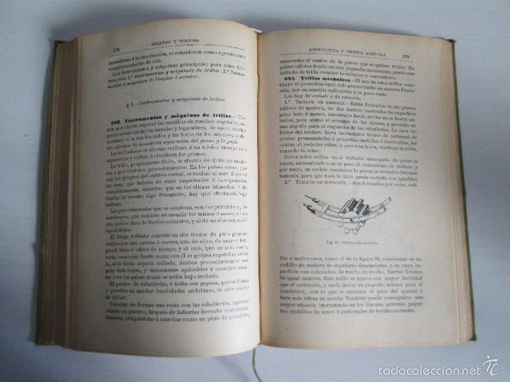 Libros antiguos: AGRICULTURA Y TECNICA AGRICOLA INDUSTRIAL. PRIMERA Y SEGUNDA PARTE. REQUEJO Y TORTOSA. - Foto 18 - 61012467