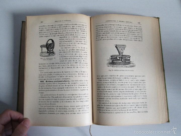 Libros antiguos: AGRICULTURA Y TECNICA AGRICOLA INDUSTRIAL. PRIMERA Y SEGUNDA PARTE. REQUEJO Y TORTOSA. - Foto 19 - 61012467