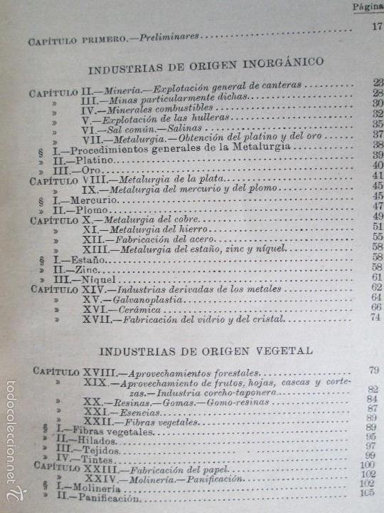 Libros antiguos: AGRICULTURA Y TECNICA AGRICOLA INDUSTRIAL. PRIMERA Y SEGUNDA PARTE. REQUEJO Y TORTOSA. - Foto 27 - 61012467
