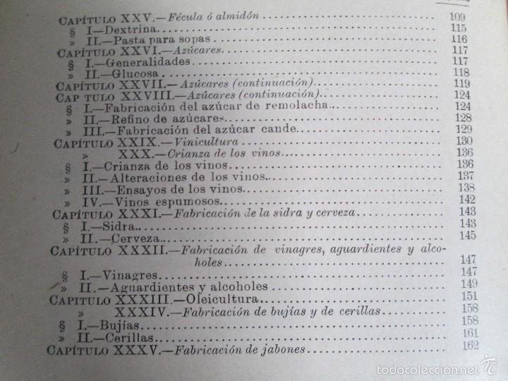Libros antiguos: AGRICULTURA Y TECNICA AGRICOLA INDUSTRIAL. PRIMERA Y SEGUNDA PARTE. REQUEJO Y TORTOSA. - Foto 28 - 61012467