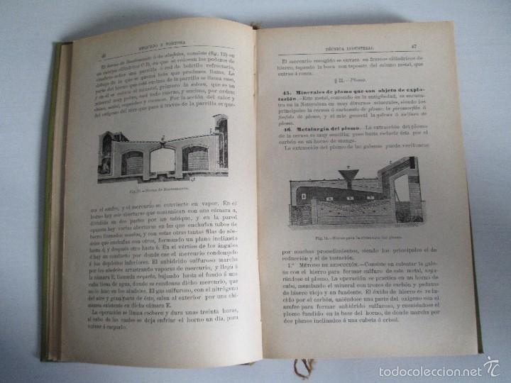 Libros antiguos: AGRICULTURA Y TECNICA AGRICOLA INDUSTRIAL. PRIMERA Y SEGUNDA PARTE. REQUEJO Y TORTOSA. - Foto 30 - 61012467