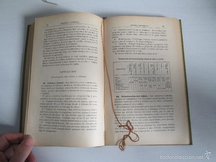 Libros antiguos: AGRICULTURA Y TECNICA AGRICOLA INDUSTRIAL. PRIMERA Y SEGUNDA PARTE. REQUEJO Y TORTOSA. - Foto 31 - 61012467
