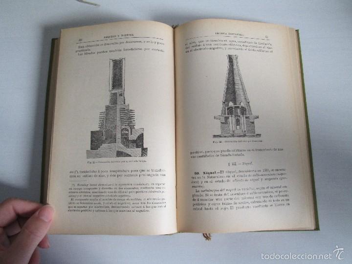Libros antiguos: AGRICULTURA Y TECNICA AGRICOLA INDUSTRIAL. PRIMERA Y SEGUNDA PARTE. REQUEJO Y TORTOSA. - Foto 32 - 61012467