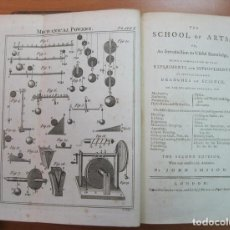 Libros antiguos: THE SCHOOL OF ARTS, CA. 1790. JOHN IMISON. POSEE 20 GRABADOS. Lote 61560196