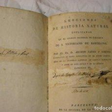 Libros antiguos: HISTORIA NATURAL AÑO 182. Lote 62731676