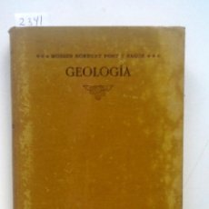 Libros antiguos: CURS DE GEOLOGIA 1905 NORBERT FONT Y SAGUE DINAMICA Y ESTRATIGRAFICA APLICADA A CATALUNYA. Lote 169475512