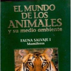 Libros antiguos: EL MUNDO DE LOS ANIMALES TOMO III FAUNA SALVAJE I MAMIFEROS. Lote 63794163