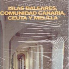 Libros antiguos: NUESTROS PUEBLOS OSLAS BALEARES CANARIAS CEUTA Y MELILLA. Lote 63804723