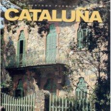 Libros antiguos: NUESTROS PUEBLOS CATALUÑA. Lote 63805567