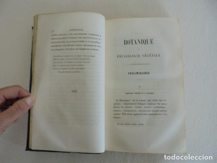 Libros antiguos: BOTANIQUE ET PHYSIOLOGIE VEGETALE. L.F. JEHAN. MANE ET 1847. VER FOTOGRAFIAS ADJUNTAS. - Foto 16 - 64168795