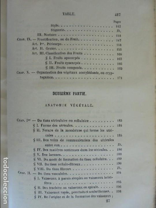 Libros antiguos: BOTANIQUE ET PHYSIOLOGIE VEGETALE. L.F. JEHAN. MANE ET 1847. VER FOTOGRAFIAS ADJUNTAS. - Foto 31 - 64168795