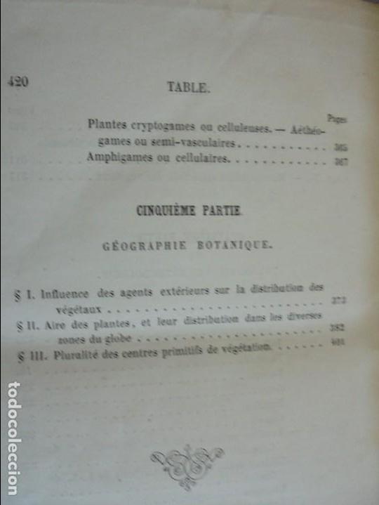 Libros antiguos: BOTANIQUE ET PHYSIOLOGIE VEGETALE. L.F. JEHAN. MANE ET 1847. VER FOTOGRAFIAS ADJUNTAS. - Foto 34 - 64168795