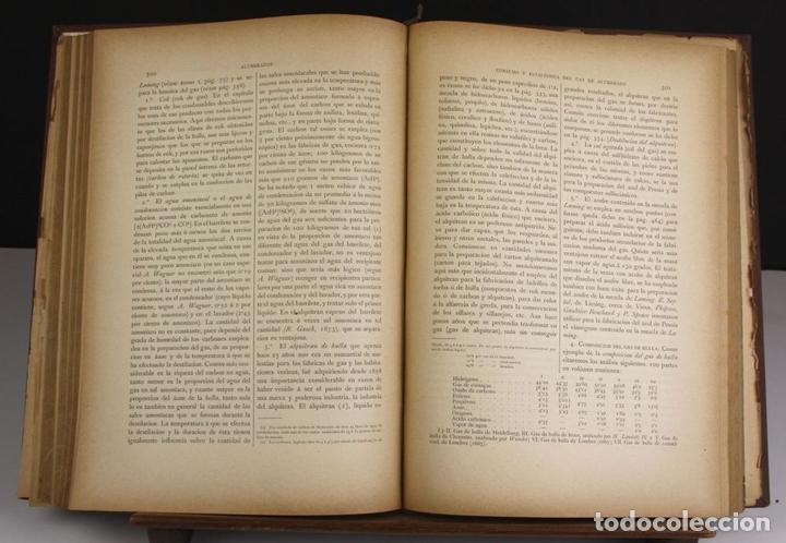 Libros antiguos: 8140 - QUÍMICA (INDUSTRIAL Y AGRÍCOLA). TOMOS I Y II(VER DESCRIP). EDIT. J. NACENTE. S/F. - Foto 4 - 64656627