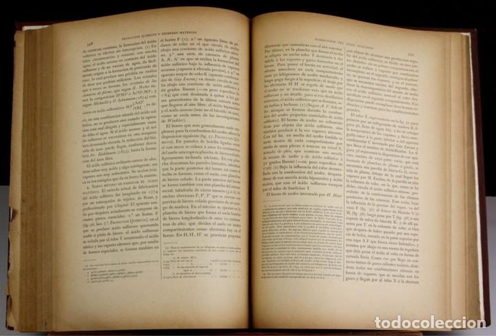 Libros antiguos: 8140 - QUÍMICA (INDUSTRIAL Y AGRÍCOLA). TOMOS I Y II(VER DESCRIP). EDIT. J. NACENTE. S/F. - Foto 5 - 64656627