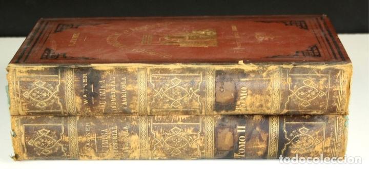Libros antiguos: 8140 - QUÍMICA (INDUSTRIAL Y AGRÍCOLA). TOMOS I Y II(VER DESCRIP). EDIT. J. NACENTE. S/F. - Foto 8 - 64656627