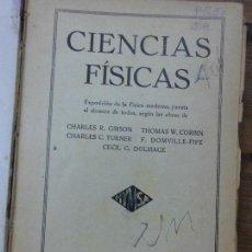 Libros antiguos: LIBRO CIENCIAS FISICAS 1936 ED. HYMSA L-9601-148. Lote 65032875