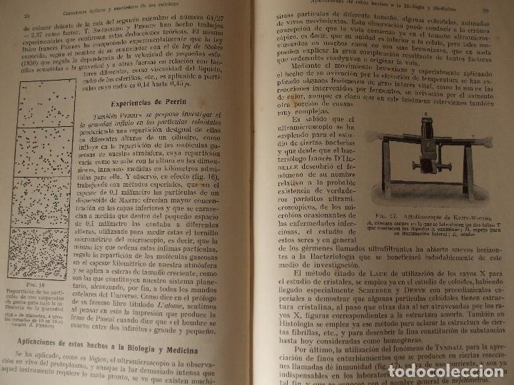 Libros antiguos: COLOIDES Y FERMENTOS - J.M. SUSAETA - Foto 4 - 65061963