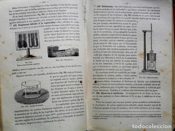 Libros antiguos: ELEMENTOS DE FÍSICA ESPEREMIENTAL – D. VICENTE RUBIO Y DIAZ – CADIZ AÑO 1882 - Foto 6 - 65074651