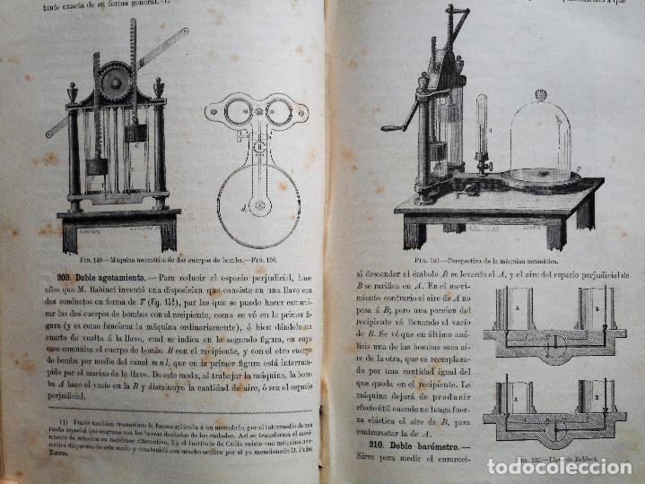 Libros antiguos: ELEMENTOS DE FÍSICA ESPEREMIENTAL – D. VICENTE RUBIO Y DIAZ – CADIZ AÑO 1882 - Foto 7 - 65074651