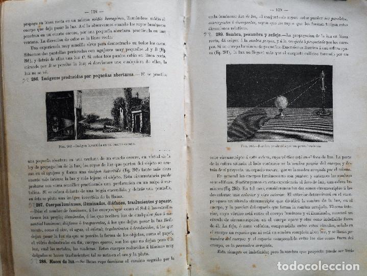 Libros antiguos: ELEMENTOS DE FÍSICA ESPEREMIENTAL – D. VICENTE RUBIO Y DIAZ – CADIZ AÑO 1882 - Foto 8 - 65074651