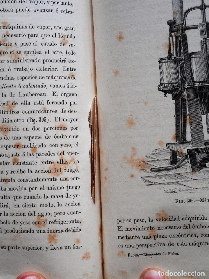 Libros antiguos: ELEMENTOS DE FÍSICA ESPEREMIENTAL – D. VICENTE RUBIO Y DIAZ – CADIZ AÑO 1882 - Foto 10 - 65074651