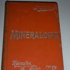 Libros antiguos: MANUALES SOLER MINERALOGIA. Lote 67618197