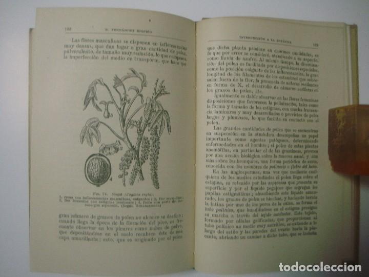 Libros antiguos: B.FERNÁNDEZ. INTRODUCCIÓN A LA BOTÁNICA. COLECCIÓN LABOR. 1942. - Foto 3 - 183466071
