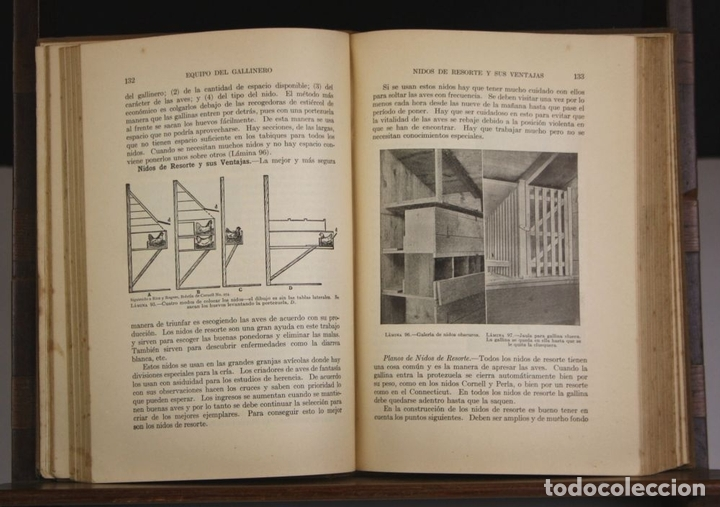 Libros antiguos: 8236 - AVICULTURA PRODUCTIVA. HARRY R. LEWIS. EDIT. J. B. LIPPINCOTT COMPANY. S/F. - Foto 4 - 68239769