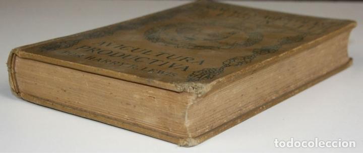 Libros antiguos: 8236 - AVICULTURA PRODUCTIVA. HARRY R. LEWIS. EDIT. J. B. LIPPINCOTT COMPANY. S/F. - Foto 6 - 68239769