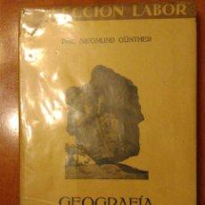 Libros antiguos: GEOGRAFIA FISICA COLECCION LABOR. Lote 68617857