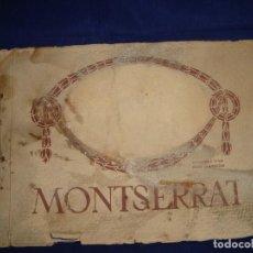 Libros antiguos: LIBRO HISTÓRICO DE MONTSERRAT ESCRITO EN 6 IDIOMAS 130 PAG. IMPRESOR OLIVA DE VILANOVA BARCELONA . Lote 68940037
