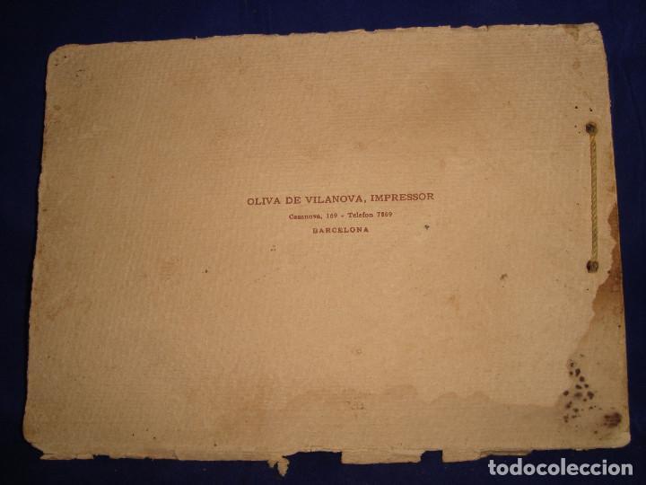 Libros antiguos: Libro histórico de montserrat escrito en 6 idiomas 130 pag. impresor oliva de vilanova Barcelona - Foto 2 - 68940037