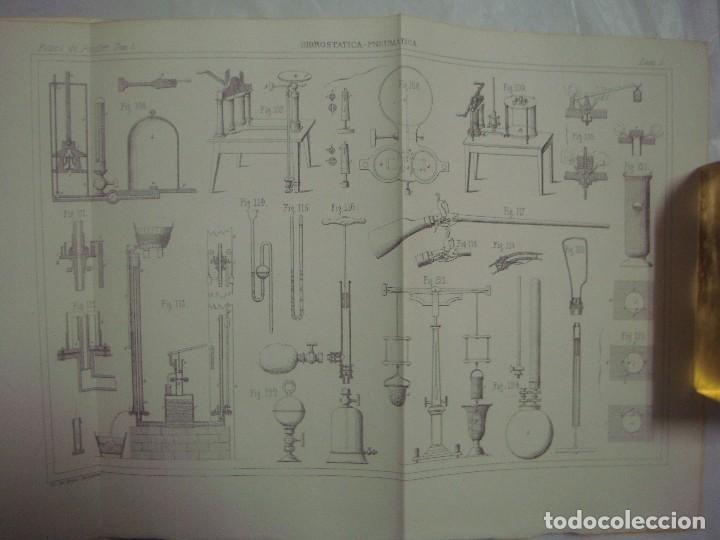 Libros antiguos: M.POUIITLET, ELEMENTOS DE FÍSICA EXPERIMENTAL. 1841. MULTITUD DE GRABADOS. FOLIO. - Foto 3 - 69006677