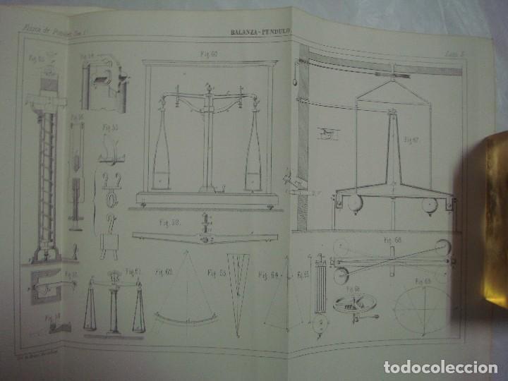 Libros antiguos: M.POUIITLET, ELEMENTOS DE FÍSICA EXPERIMENTAL. 1841. MULTITUD DE GRABADOS. FOLIO. - Foto 4 - 69006677