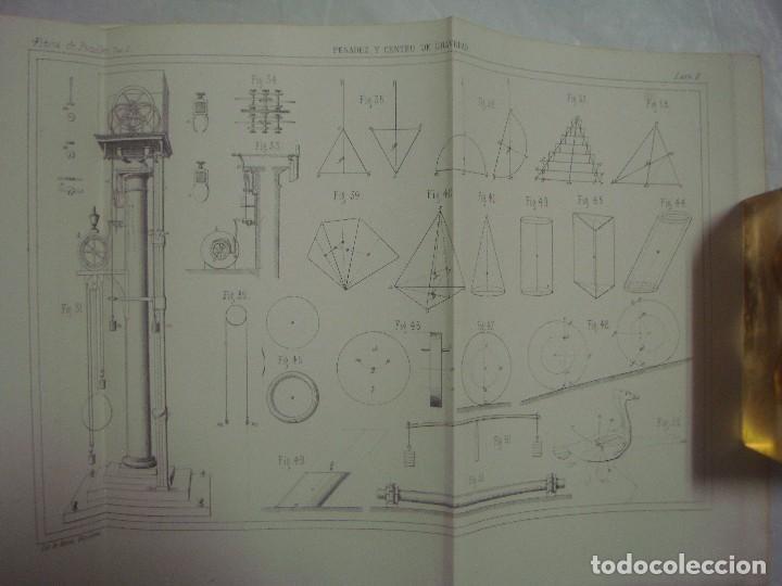 Libros antiguos: M.POUIITLET, ELEMENTOS DE FÍSICA EXPERIMENTAL. 1841. MULTITUD DE GRABADOS. FOLIO. - Foto 5 - 69006677