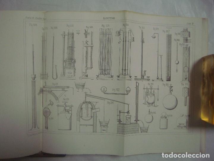 Libros antiguos: M.POUIITLET, ELEMENTOS DE FÍSICA EXPERIMENTAL. 1841. MULTITUD DE GRABADOS. FOLIO. - Foto 6 - 69006677